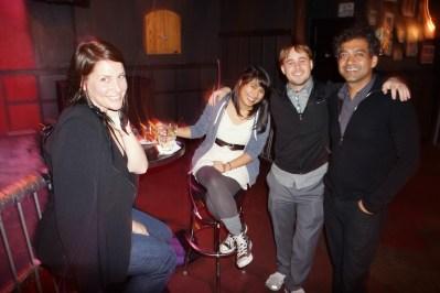 Rose Goldman, Chelsea Otakan, Pat Diven, Naval Ravikant