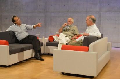 Yo-yo Ma, Richard Saul Wurman, David Brooks