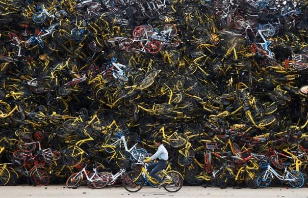 Chinese Bikeshare Photos