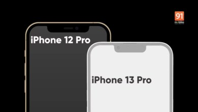 Photo of Leaked iPhone 13/Pro 5G renders show off smaller notch, updated cameras