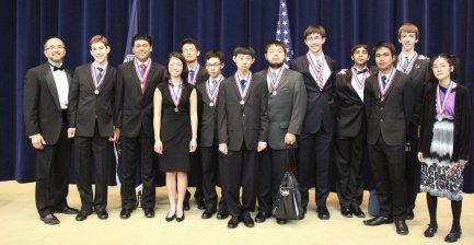 The USA Mathematical Olympiad award ceremony.