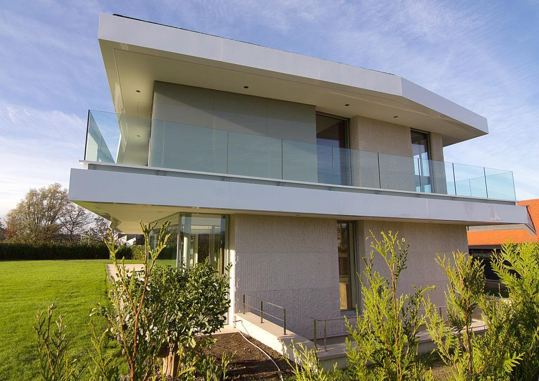casa B - Fachada Lateral 01