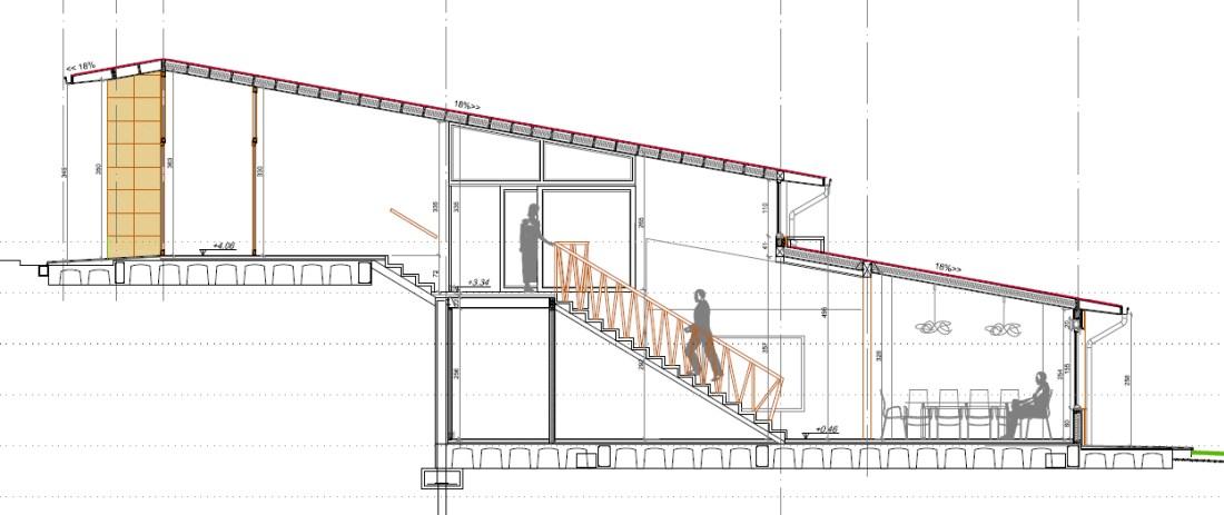 Seccion Escalera
