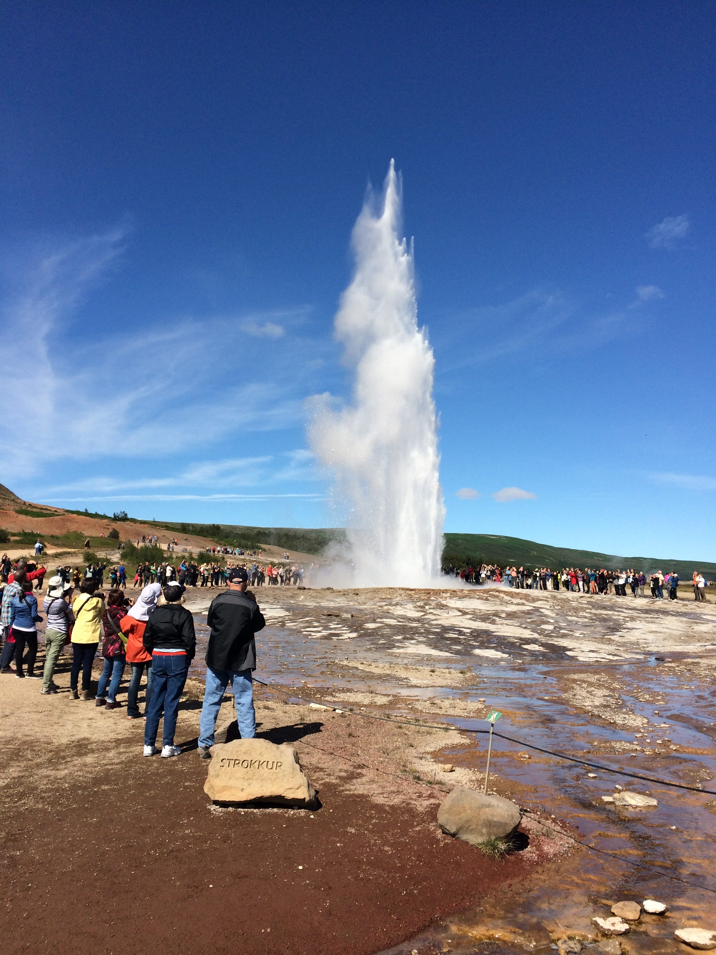 IJsland rondreis blogpost Geysir Strokkur Golden Circle
