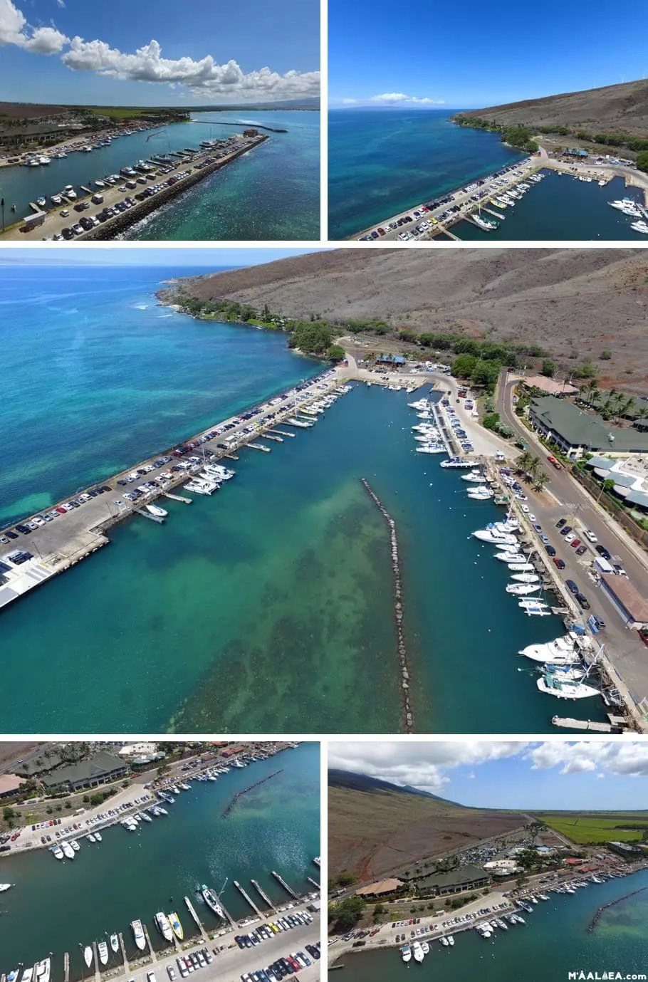 Maalaea Harbor slips