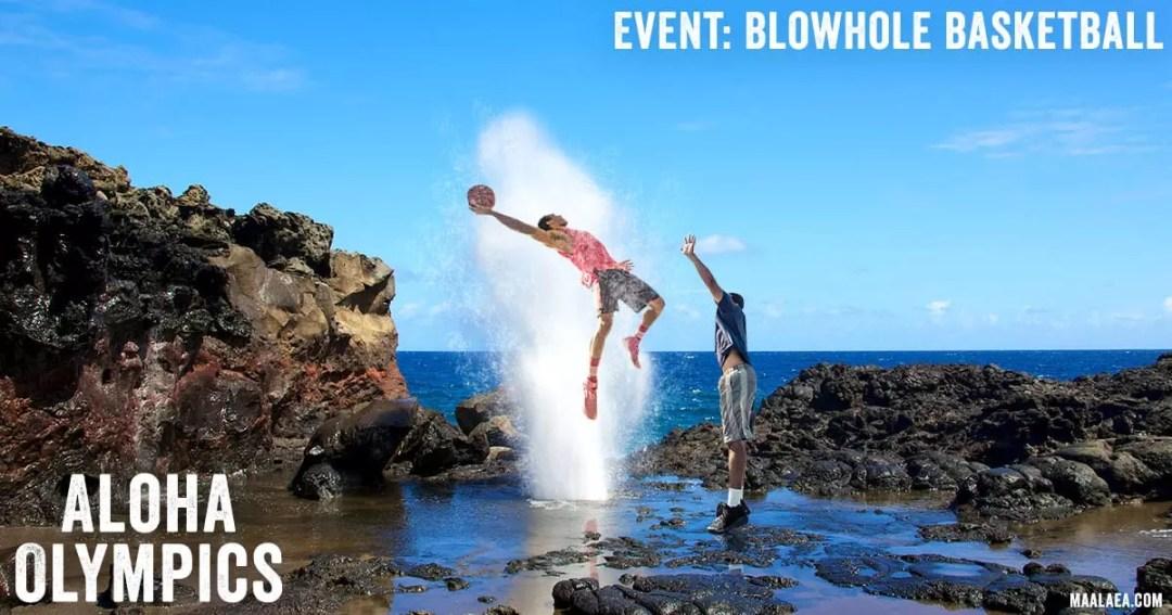 blowhole basketball