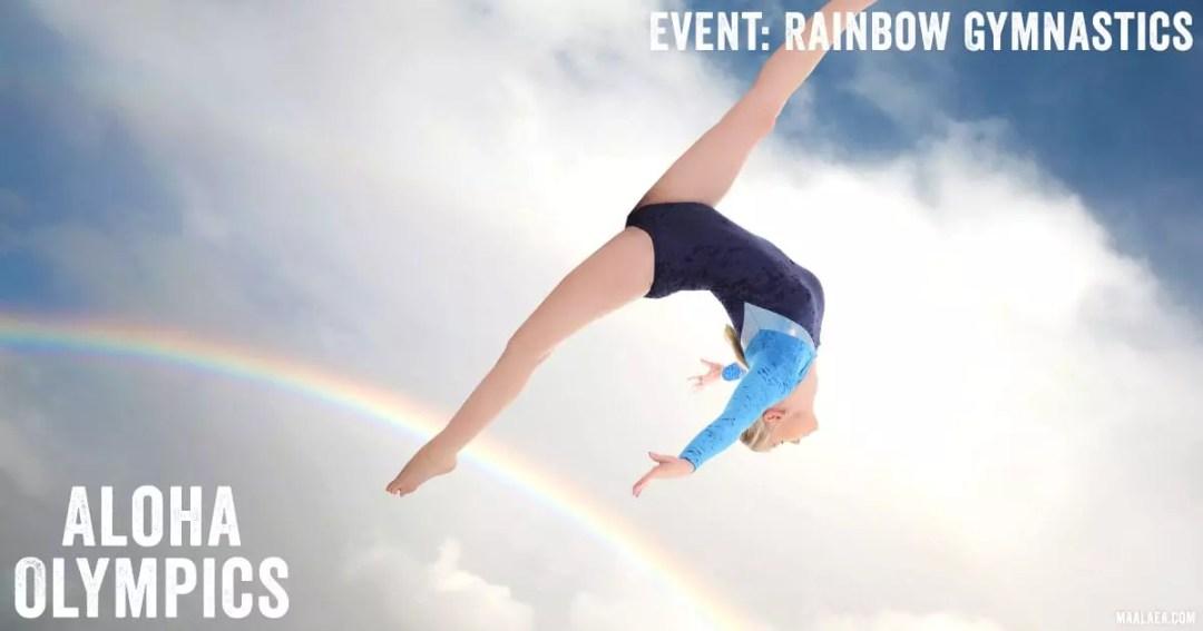 rainbow gymnastics