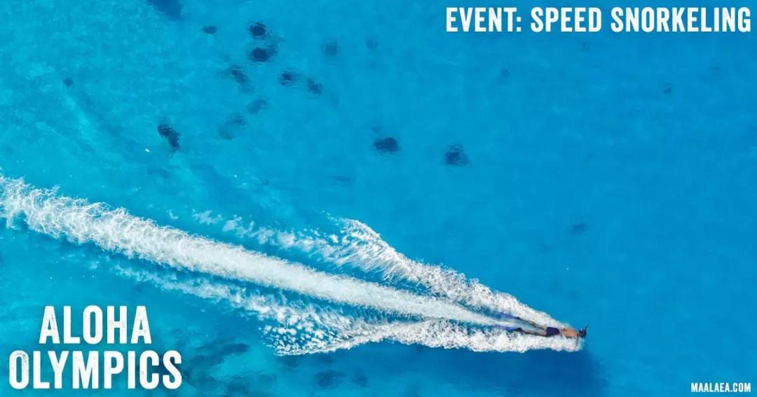 speed snorkeling