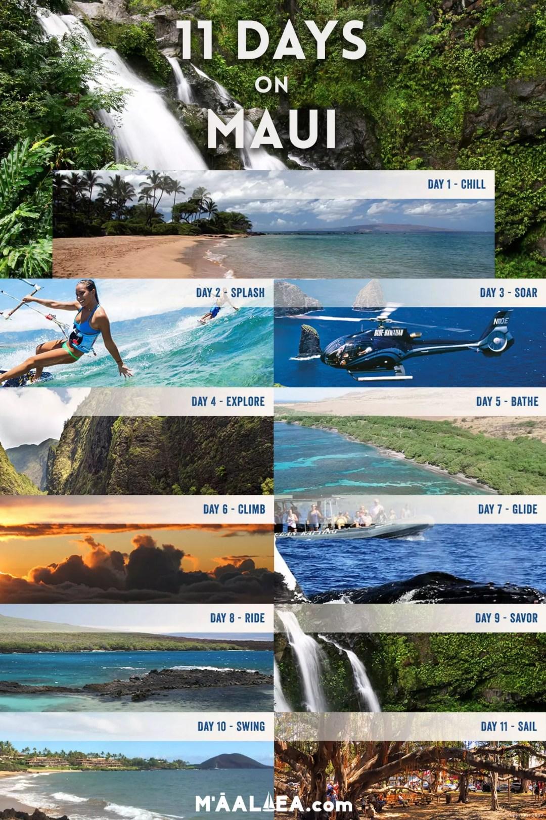 11 day Maui itinerary