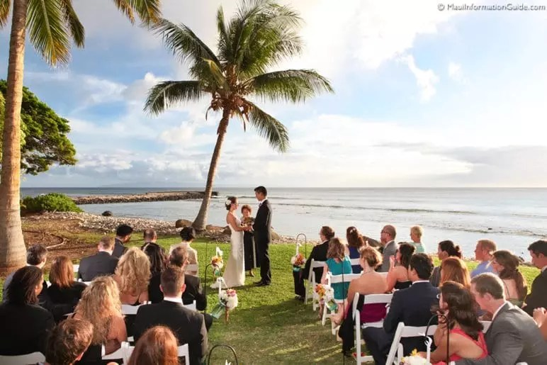 Olowalu Plantation wedding