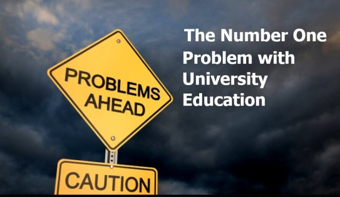 the number one problem with education