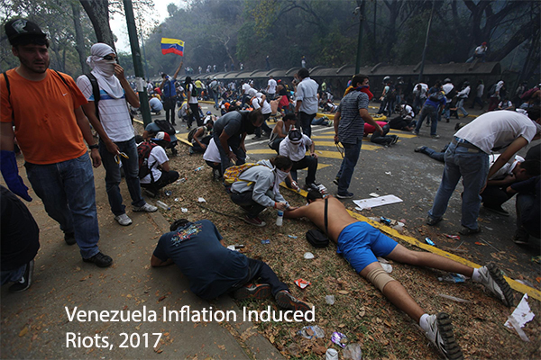 the devastating consequences of Central Banker created hyperinflation in Venezuela