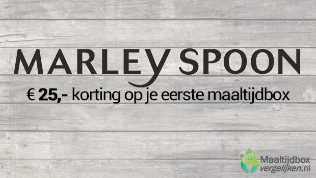 Kortingscode Marley Spoon van € 25,-