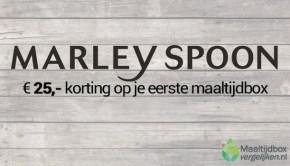 kortingscode marley spoon