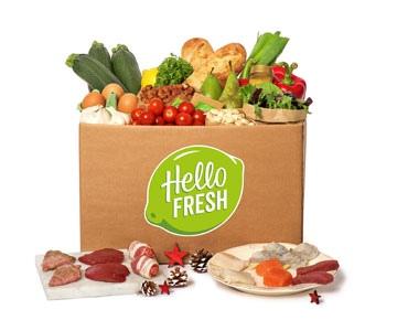 HelloFresh gourmetbox 2016