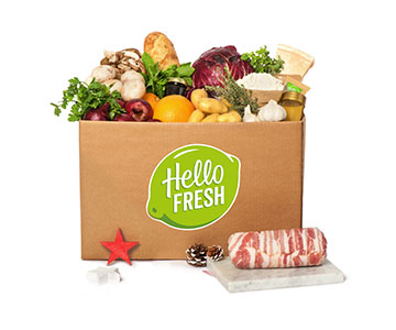 HelloFresh kerstbox 2016