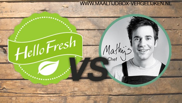 mathijs maaltijdbox of hellofresh