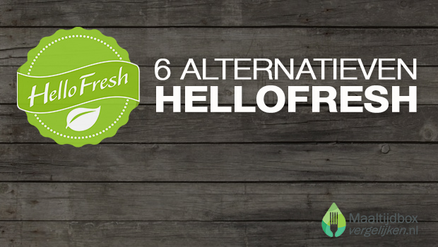 6 alternatieven voor HelloFresh