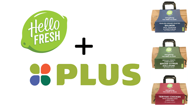 HelloFresh in de schappen bij PLUS Supermarkten.