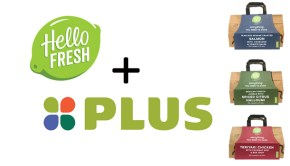 HelloFresh in de schappen bij plus supermarkten