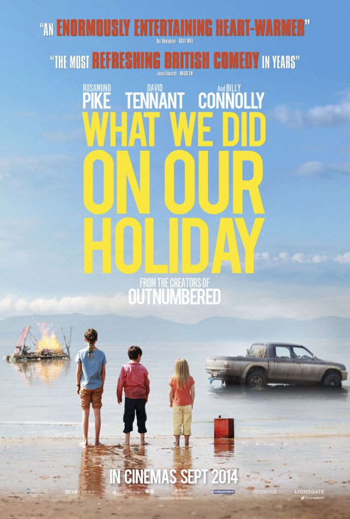 What-We-Did-on-Our-Holiday-Poster