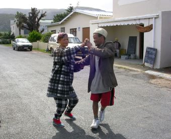 They heard music, ans spontaneously began to dance!