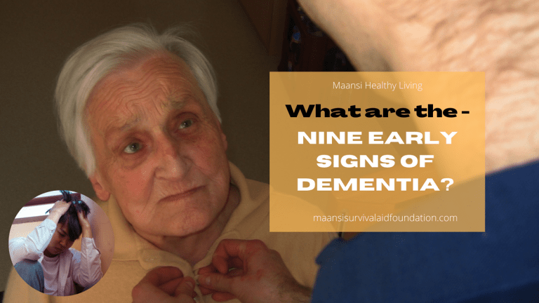 What Are The Nine Early Signs of Dementia?