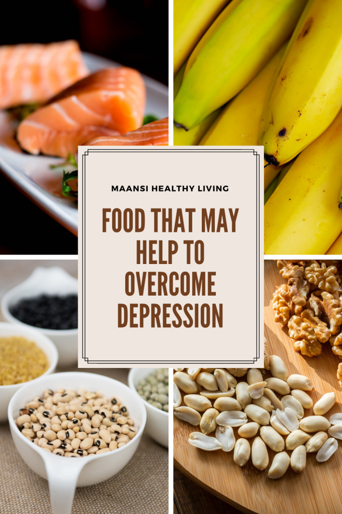 Food that may help to lower depression.