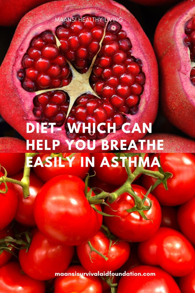 Diet- Which can help you breathe easily in asthma