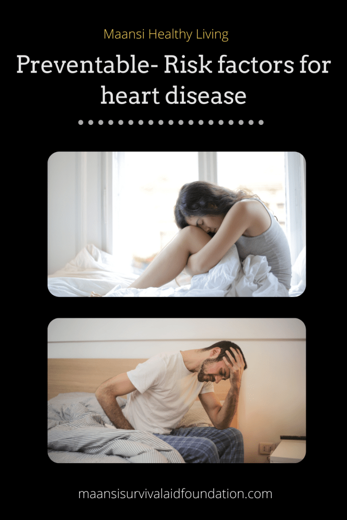 Managing stress levels is good for heart health