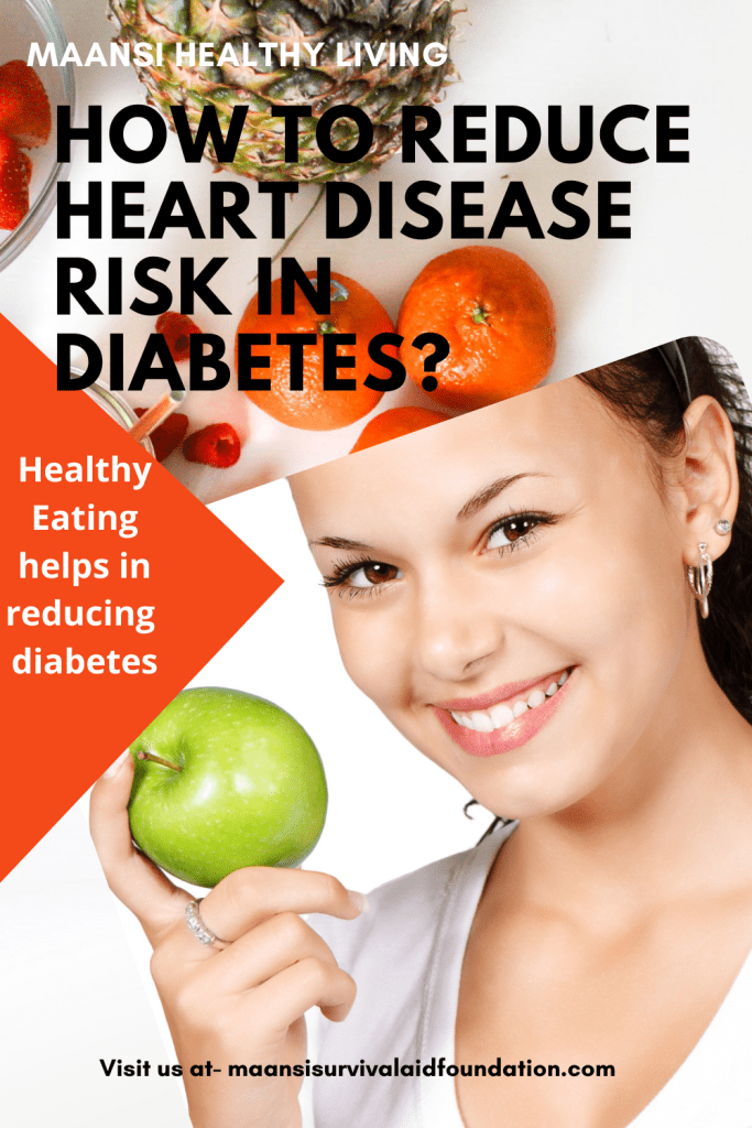 Healthy eating habbits can help in controlling diabetes.
