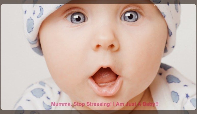 Mumma, Stop Stressing! I Am Just A Baby!-A short guide to New Parenting