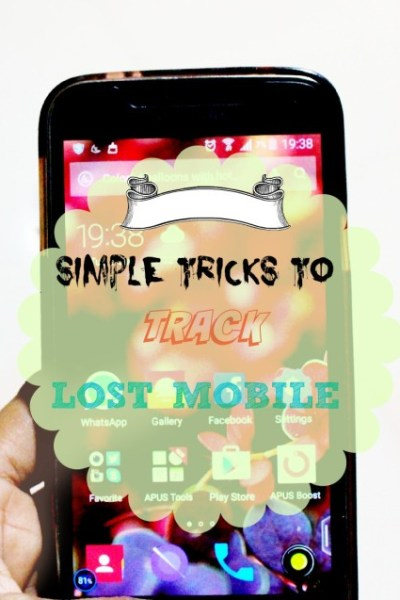 What To Do If You Lose Your Mobile-I Am An Expert Here!