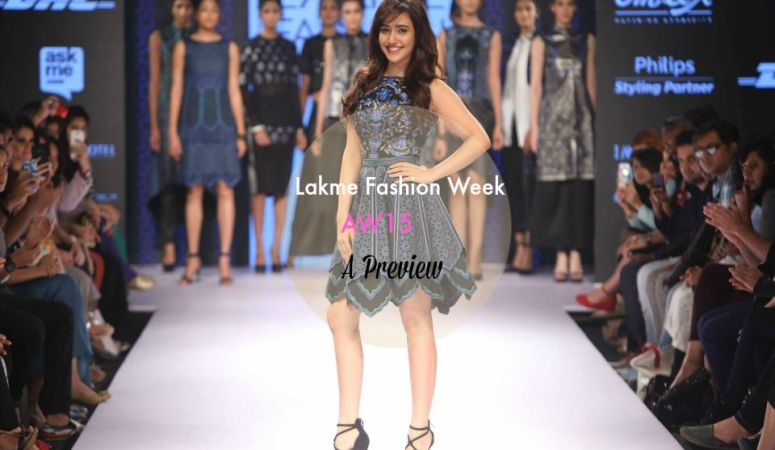 Lakme Fashion Week AW'15