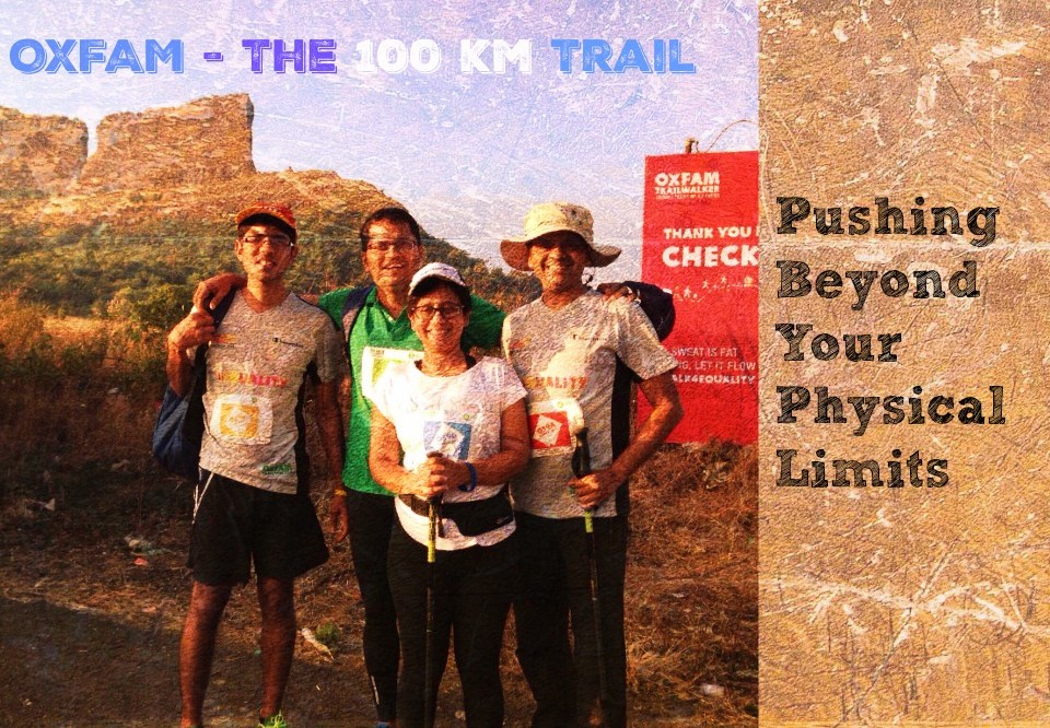 Oxfam: Nailing The 100 Km Trail