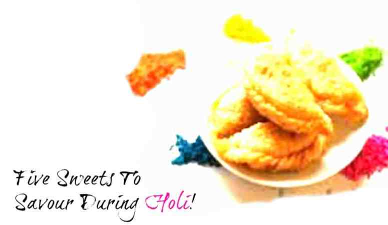 Five sweets to savour during Holi!