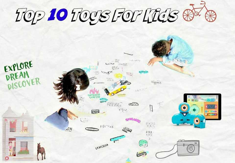 Top 10 Toys For Kids 2016:  Our Picks