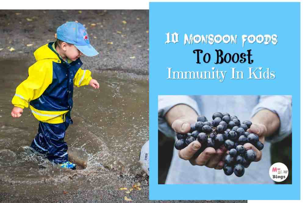 Monsoon Foods To Consume To Boost Immunity In Kids