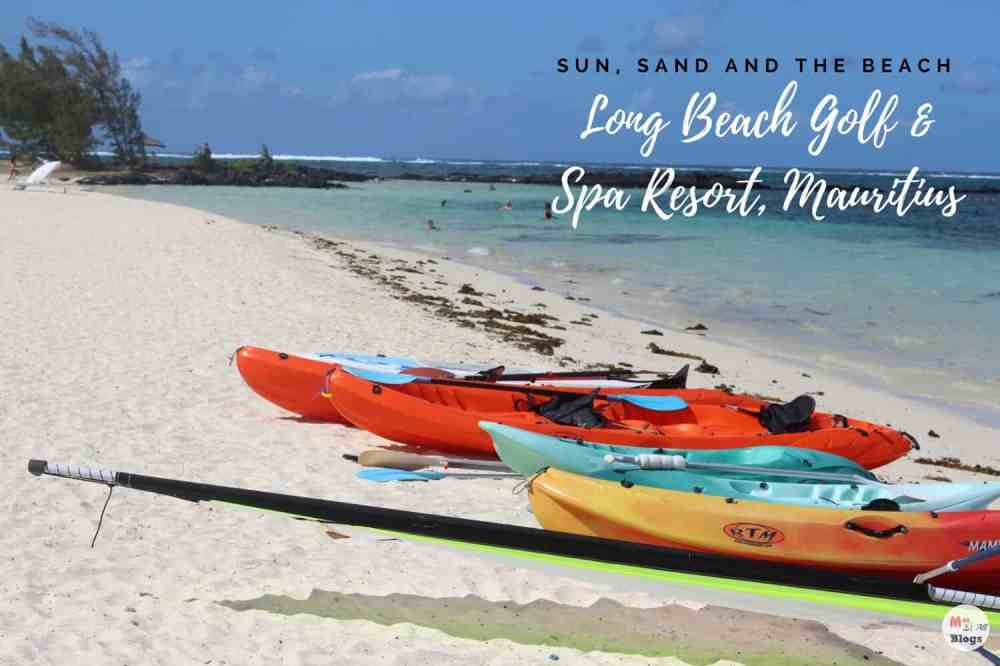 Sun, Sand And The Beach- Long Beach Golf And Spa Resort, Mauritius