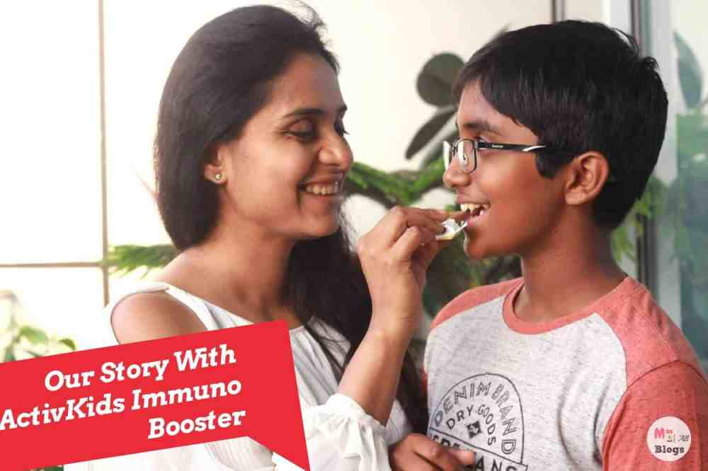 Our Story With ActivKids Immuno Booster
