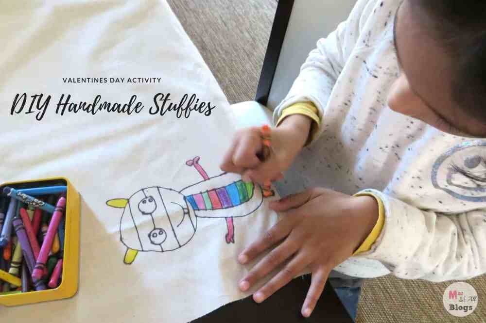 DIY Handmade Stuffies: Valentine's Day Activity