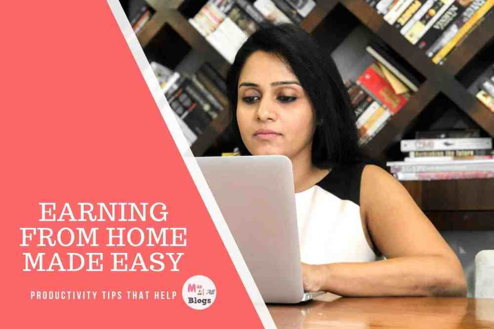 Earning From Home Made Easy. Tips That Help!