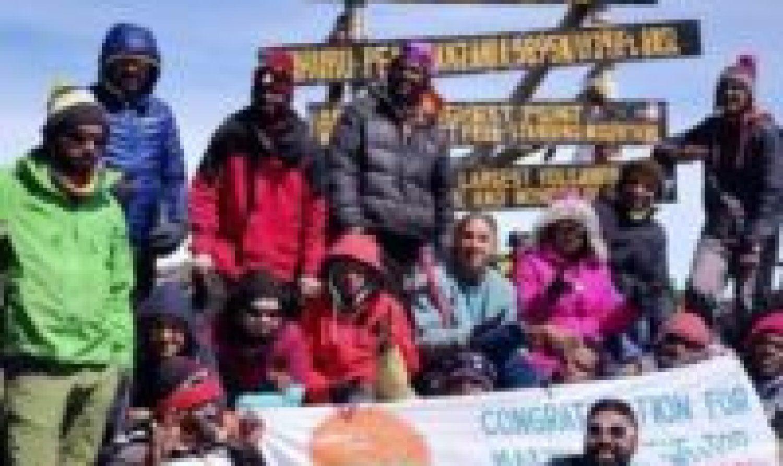 Kilimanjaro Inclusive Trek With Adventure Beyond barriers Foundation