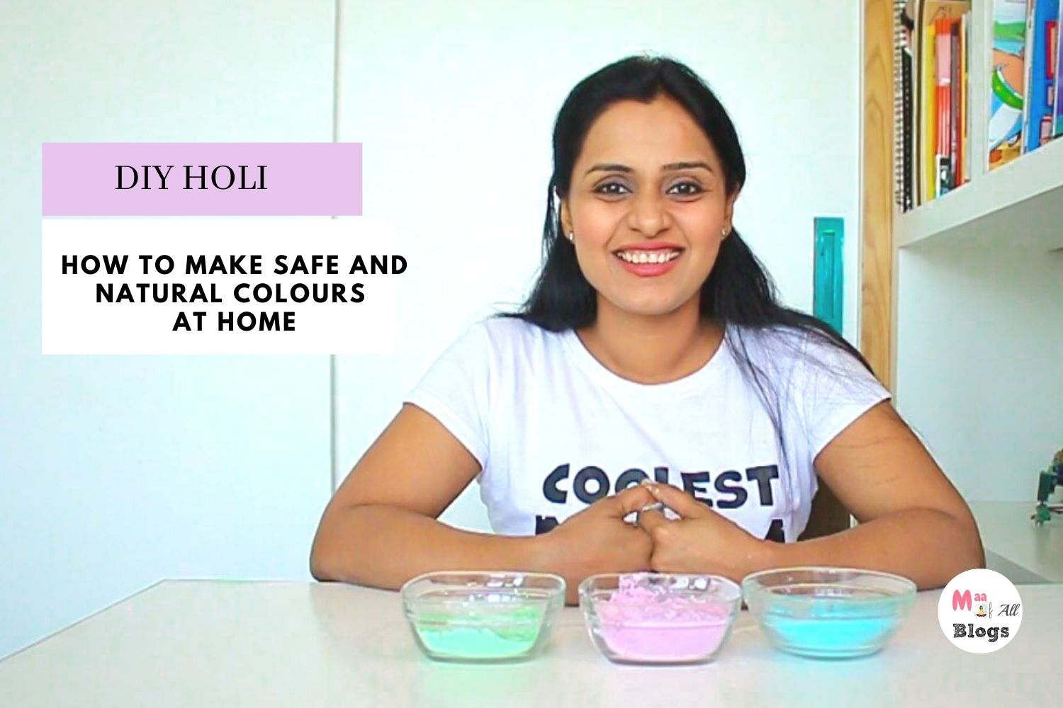 How To Make Safe And Natural Colours At Home - DIY HOLI COLOUR %