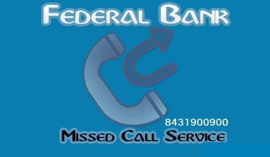 Federal Bank balance enquiry