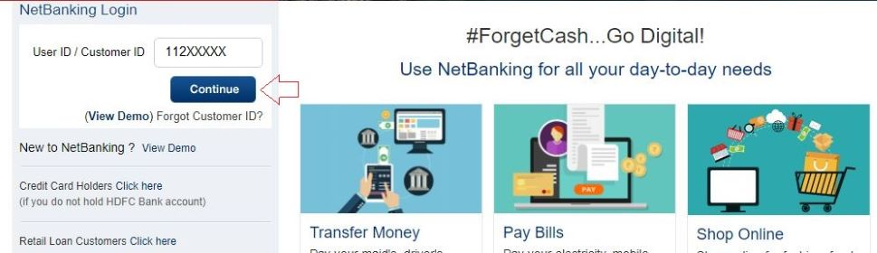HDFC NetBanking Registration – How to Activate HDFC Net Banking