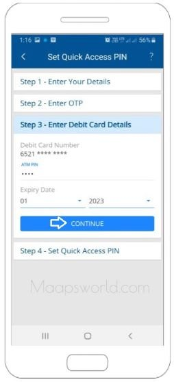 HDFC mobile banking app