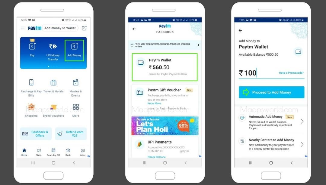 How to Add Money in Paytm from Credit Card