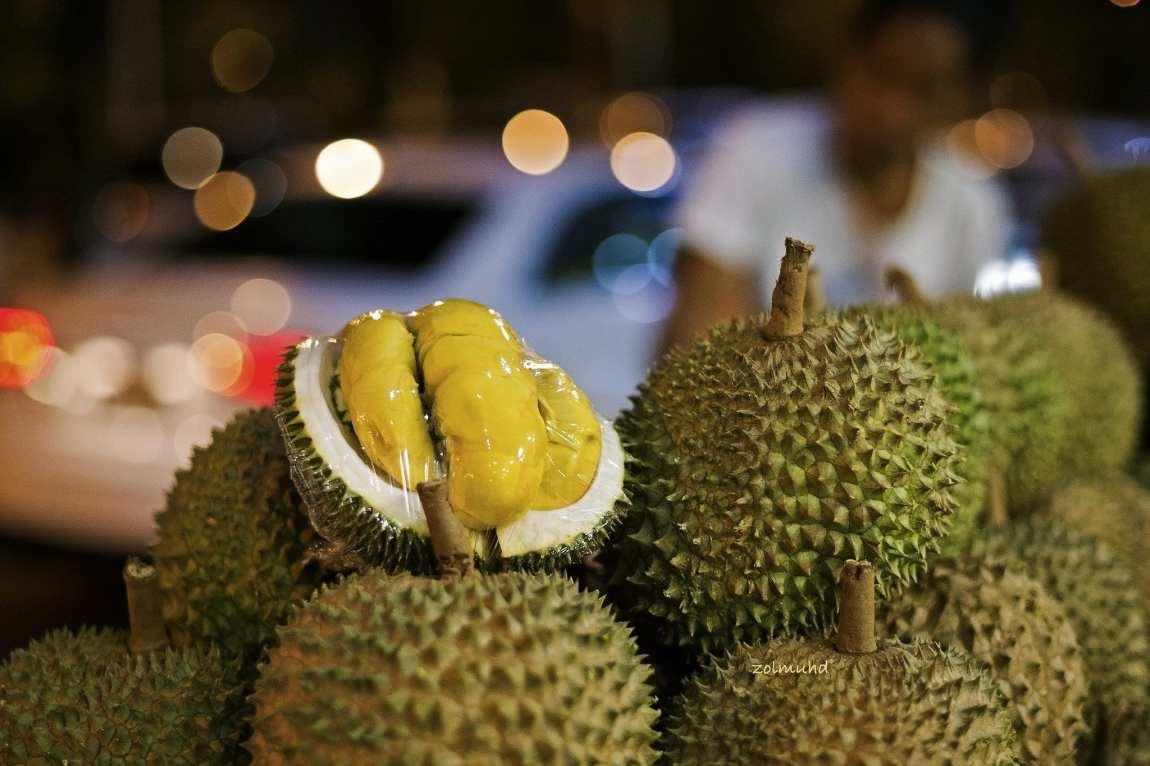 Durian fruit in Kuala Lumpur
