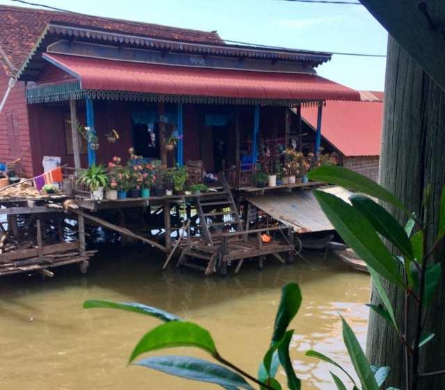 drijvend dorp Kompong Khleang